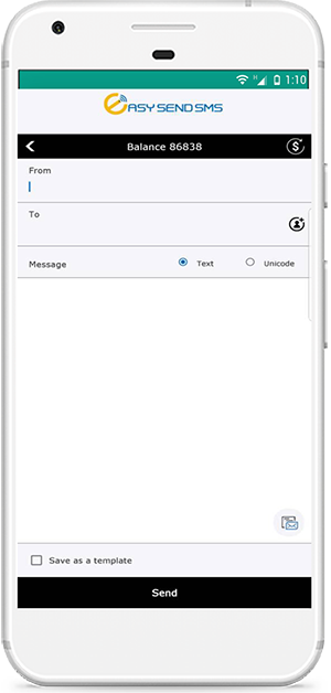 Easy Send SMS Mobile APP